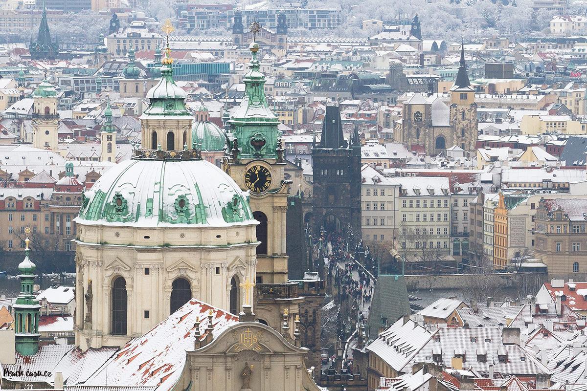 Unikátní pohled na Prahu